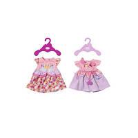 Одежда для куклы BABY BORN - ПРАЗДНИЧНОЕ ПЛАТЬЕ 2 в ассорт.