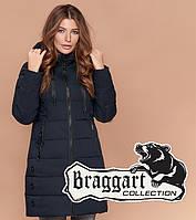 Braggart Simply 1929 | Женская куртка зимняя темно-синяя