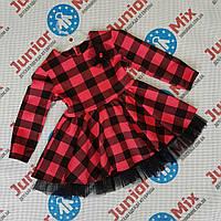 Дитячі плаття в клітинку для дівчаток оптом SNEKE, фото 1