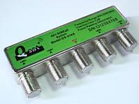 Коммутатор DISEqC 4x1 внешний Q-SAT DS-41K6
