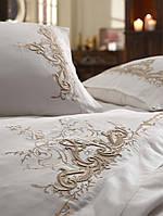 Комплект белья сатин с вышивкой Dantela Vita Olivia bej, фото 1