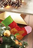 Фетровий носок святковий, фото 2