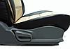 Чехлы на сиденья Рено Трафик (Renault Trafic) 1+2 (универсальные, кожзам, пилот), фото 9