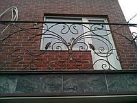 Кованый балкон в стиле модерн., фото 1