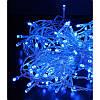 Гирлянда 400 LED 30м синяя на прозрачном проводе
