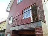 Кований балкон в стилі модерн., фото 2