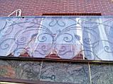 Кований балкон в стилі модерн., фото 3