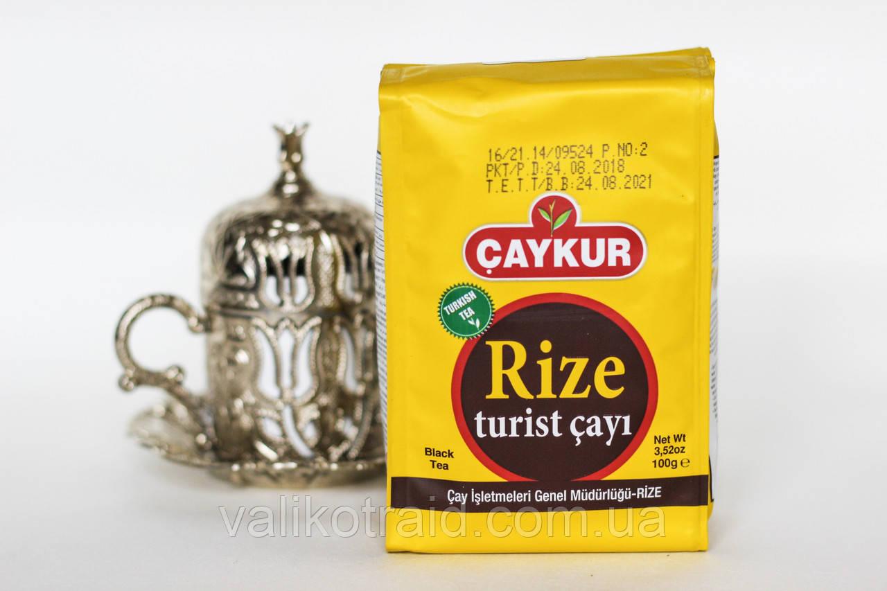 Чай турецкий Rize в заводской упаковке 100 гр