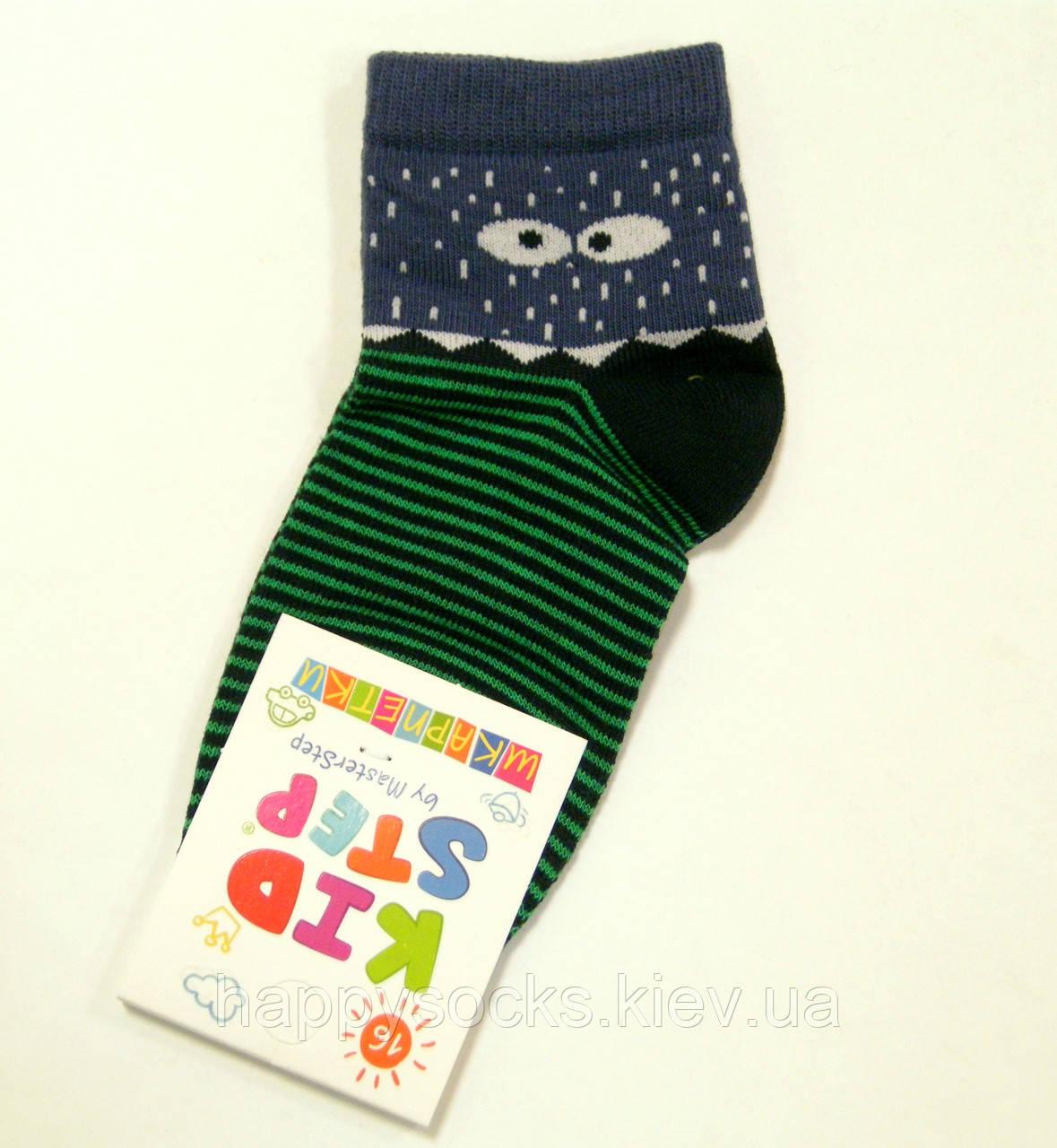 Хлопковые цветные детские носки монстрик