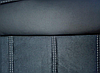 Чехлы на сиденья Рено Сценик 2 (Renault Scenic 2) (модельные, экокожа Аригон+Алькантара, отдельный подголовник), фото 6