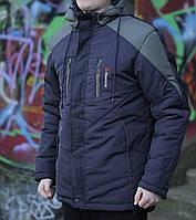 Мужская зимняя куртка Reebok темно синий