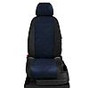 Чехлы на сиденья Рено Меган 2 (Renault Megane 2) (модельные, экокожа+автоткань, отдельный подголовник), фото 8