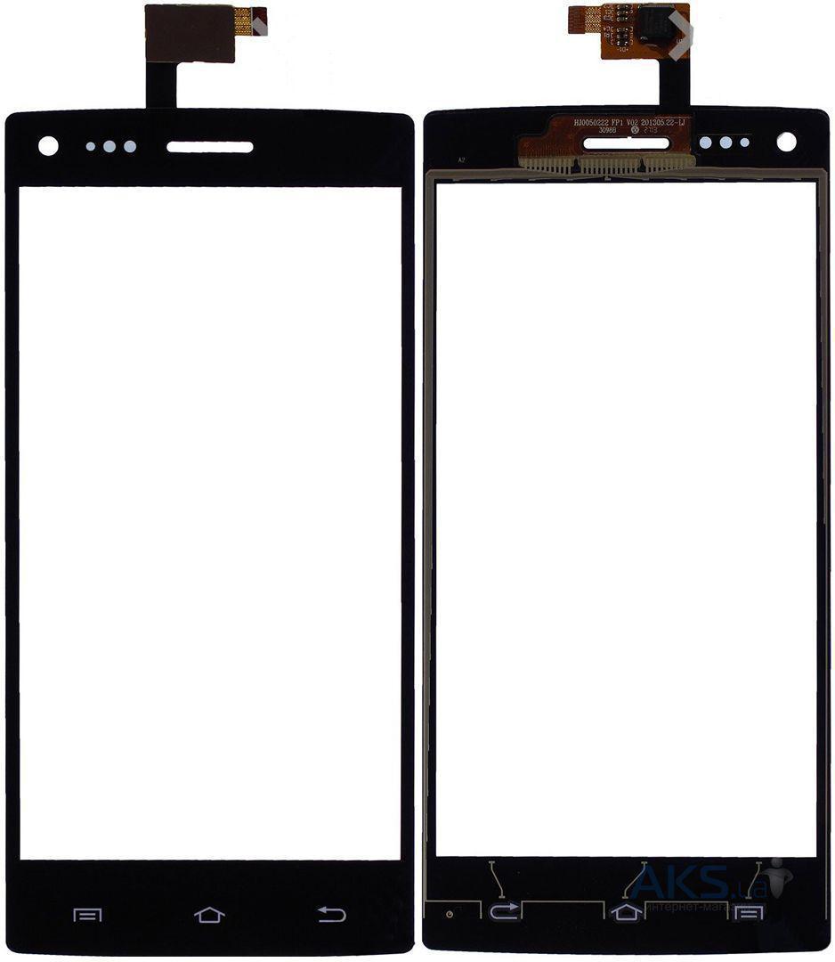 Сенсорный экран (тачскрин) THL W11 black