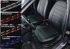 Чехлы на сиденья Рено Меган 2 (Renault Megane 2) (модельные, экокожа Аригон, отдельный подголовник), фото 9