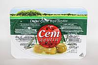Оливки зеленые 200гр Турция с косточкой