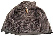 Кофта спортивная мужская на меху с капюшоном American Fashion, фото 3
