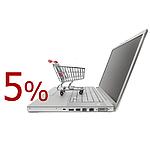 Скидка на товар при покупке online