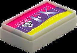 Аквагрим Diamond FX cплит кейк 28g Неоновый Диско