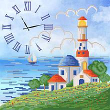ЧКБ-3010. Схема для вишивки бісером. Годинник. Синє море.