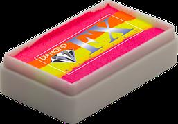 Аквагрим Diamond FX cплит кейк 28g Неоновая Попса