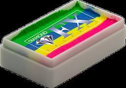 Аквагрим Diamond FX cплит кейк 28g Неоновая Радуга