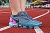 """Кроссовки женские Nike Air Vapormax Flyknit 2.0 """"Air Metropolis"""" / 942843-004 (Реплика)"""