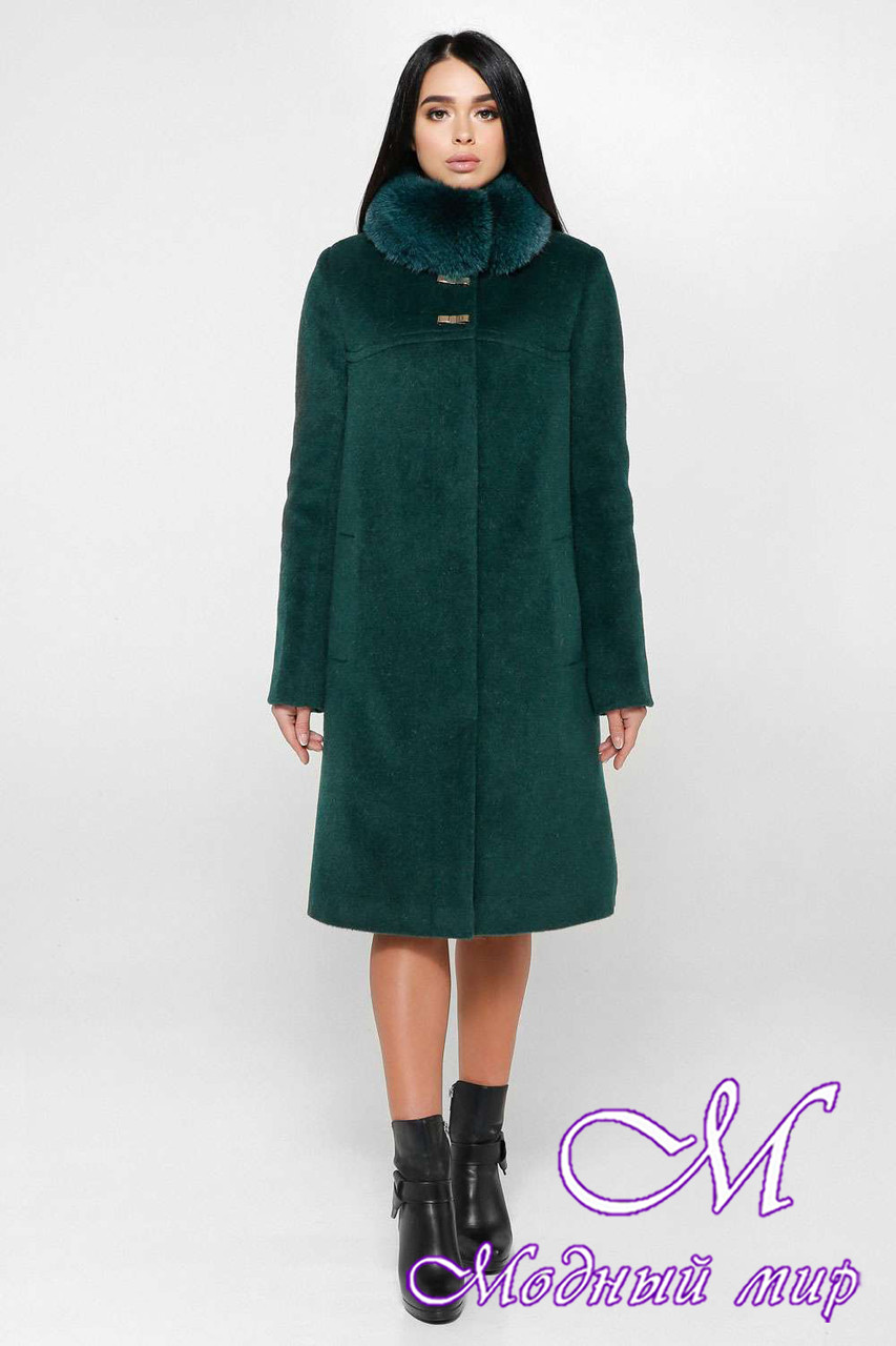 cda6fd075ba7a3 Женское теплое зимнее пальто с мехом (р. 44-58) арт. 990 Тон 268 ...