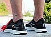 "Кроссовки мужские Off White x Nike Epic React Flyknit ""Black/White"" / AQ0067-010 (Реплика), фото 2"