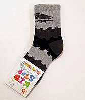 Махровые хлопковые детские носки с акулой