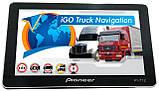 Автомобильный GPS навигатор Pioneer PI-712, экран 7 дюймов 256 ОЗУ, 8GB с новыми картами Европы Igo Primo, фото 2