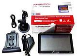 Автомобильный GPS навигатор Pioneer PI-712, экран 7 дюймов 256 ОЗУ, 8GB с новыми картами Европы Igo Primo, фото 8