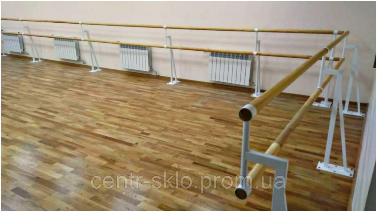 Установка хореографического (балетного) станка.