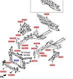 Панель передняя, KIA Sorento 2012-2014, 641012p500 , фото 4