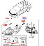 Фара передняя правая, KIA Sorento 2012-2014, 921022p550, фото 4