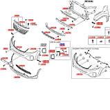Фара противотуманная левая, KIA Sorento 2013, 922012p610, фото 4