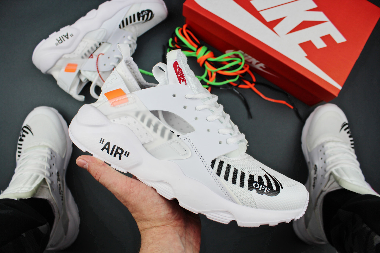 5e0c02a4b123ed Кроссовки мужские Off White x Nike Air Huarache Ultra