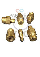 Кран маевского М10 под ключ шестигранник (для чугунного радиатора)