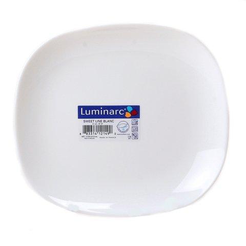 Тарелка десертная Luminarc Sweet Line прямоугольная 21.5x19 см (J0561)