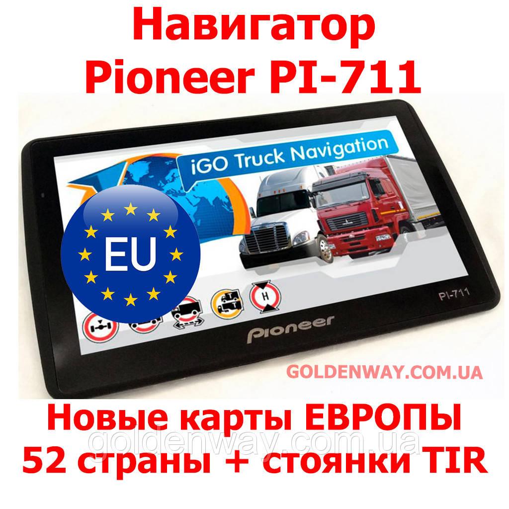 Avtomobilnyj Gps Navigator Pioneer Pi 711 Ekran 7 Dyujmov 8gb S