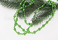 Гирлянда новогодняя гранёная, зеленая