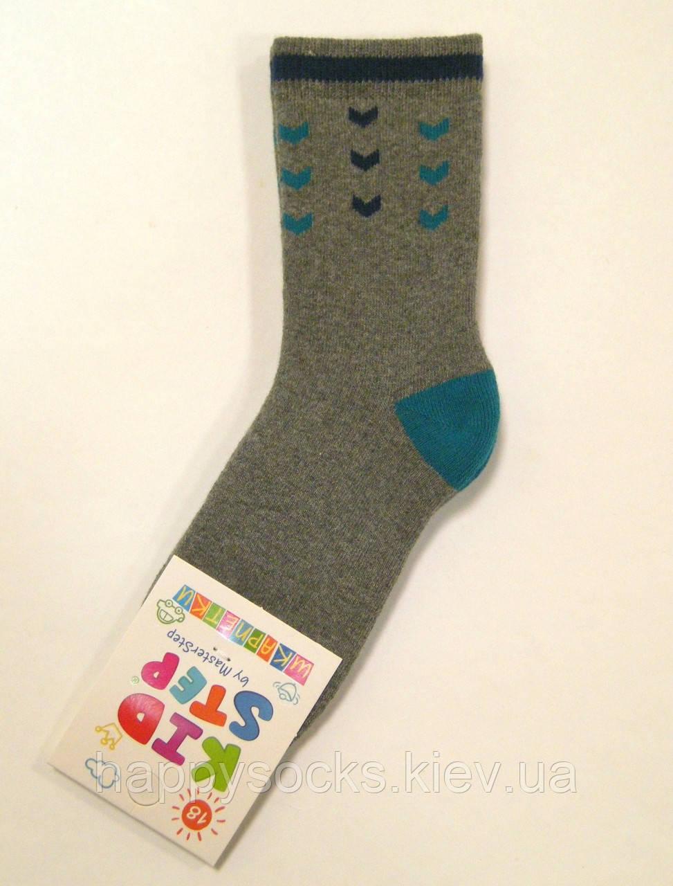 Теплые махровые хлопковые носки детские