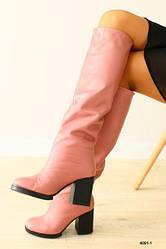 Кожаная обувь ЗИМА
