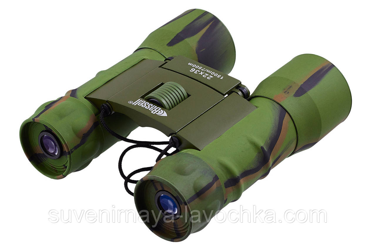 Бинокль 22x36 - BASSELL (green)