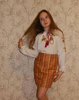 Украинская юбка  для девочки. Оригинальный подарок к 8 марта
