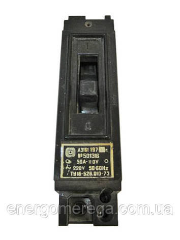 Автоматический выключатель А 3161 25А, фото 2