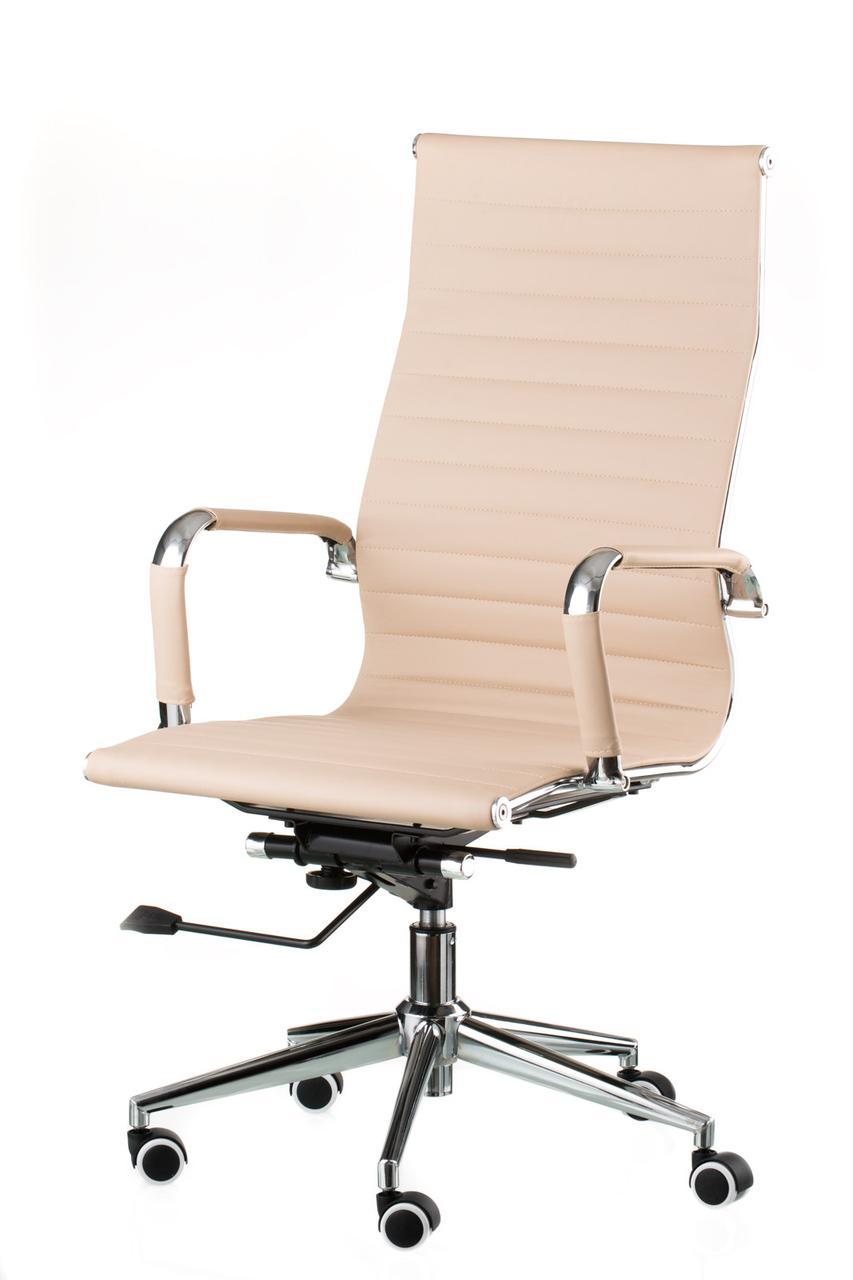 Крісло офісне Spеcial4You Solano artlеathеr bеigе