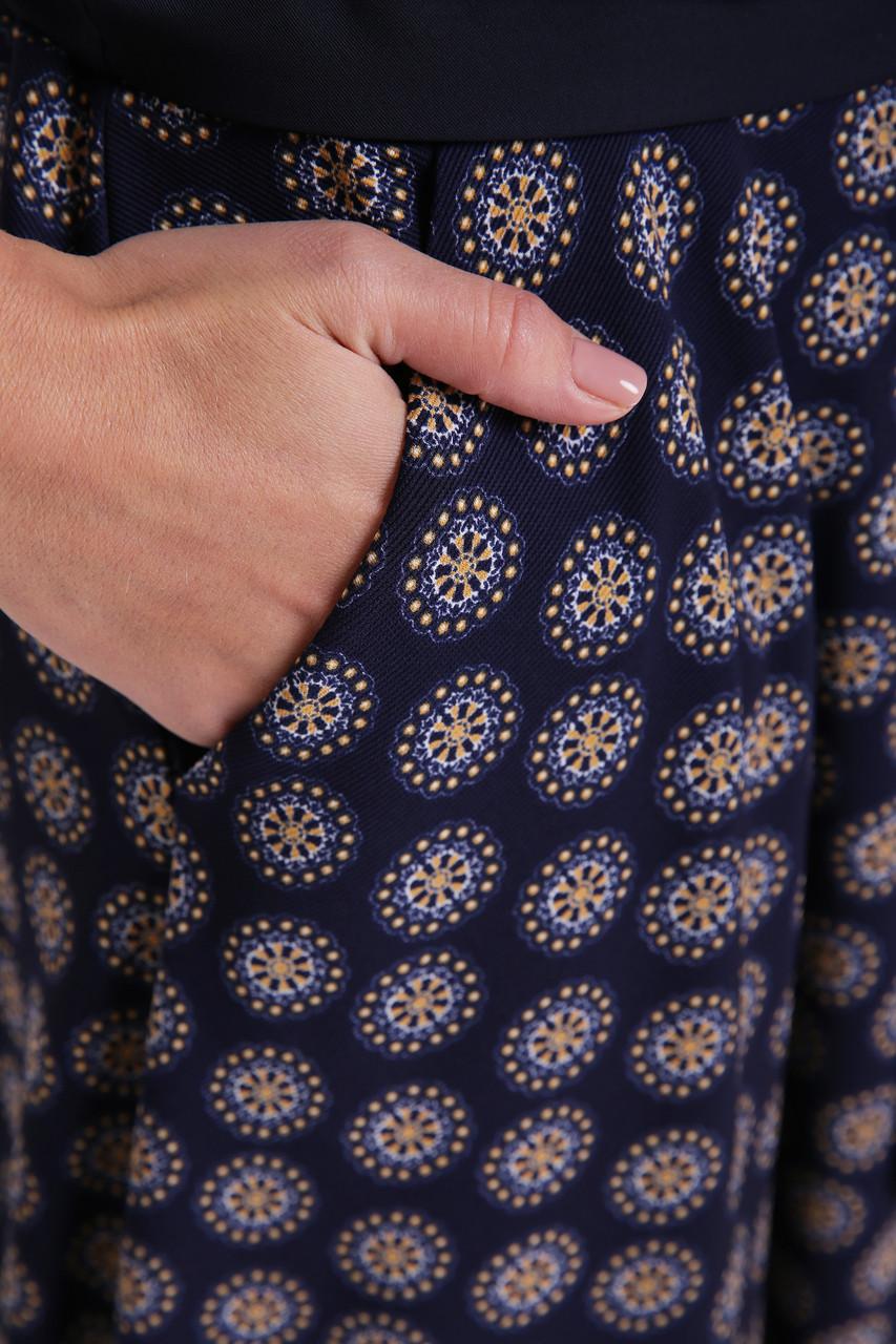 bbfb2b6e844 Платье расклешенное Луиза ночь - 815305382