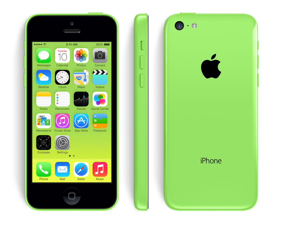 Apple iPhone 5C 8GB (Green) Refurbished