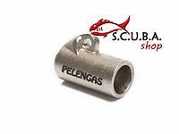 Скользящая втулка Titanium PELENGAS + гидротормоз на гарпун 7 мм и 7,5 мм (титан)