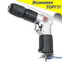 Дрель пневматическая с реверсом патрон самозажимной 1.5-10мм PT-0903